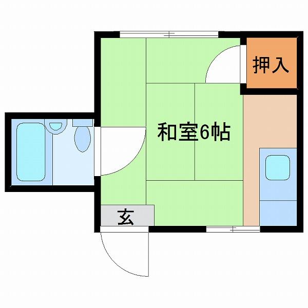 横町コーポ(202)