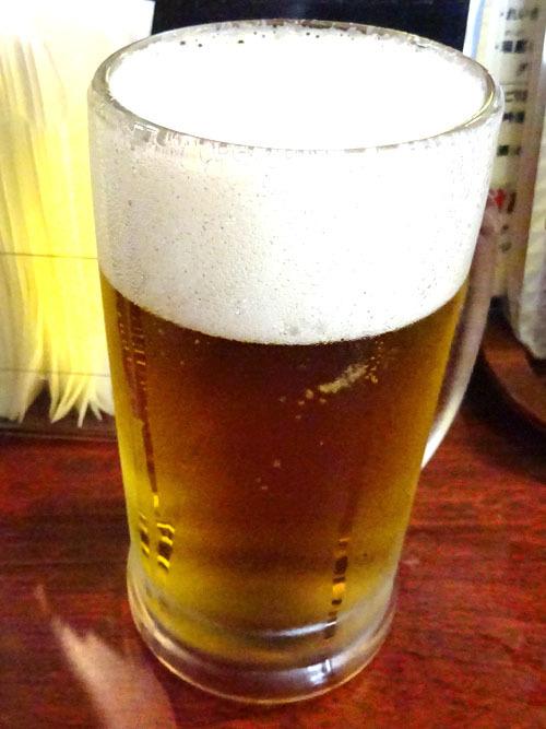 04生ビール寿司セット