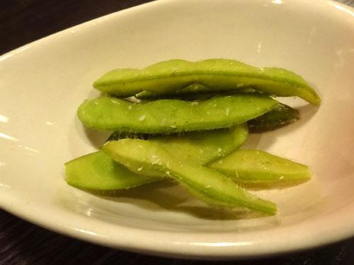 77わさび風味枝豆