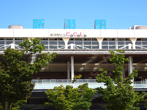 21新潟駅