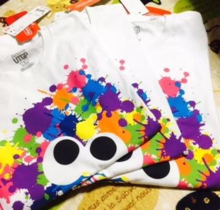 スプラトゥーンTシャツ