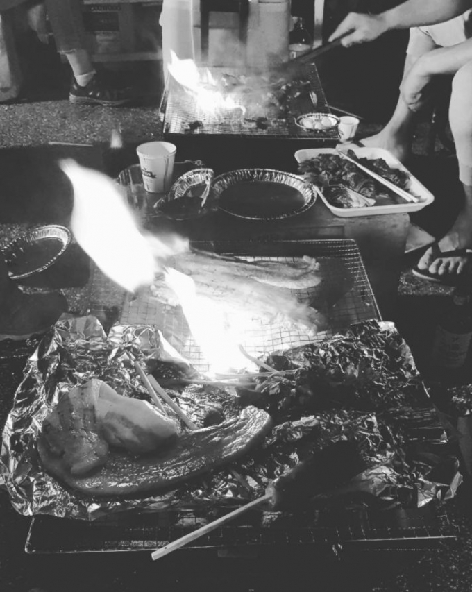 20170719 南楊州セット場で焼き肉