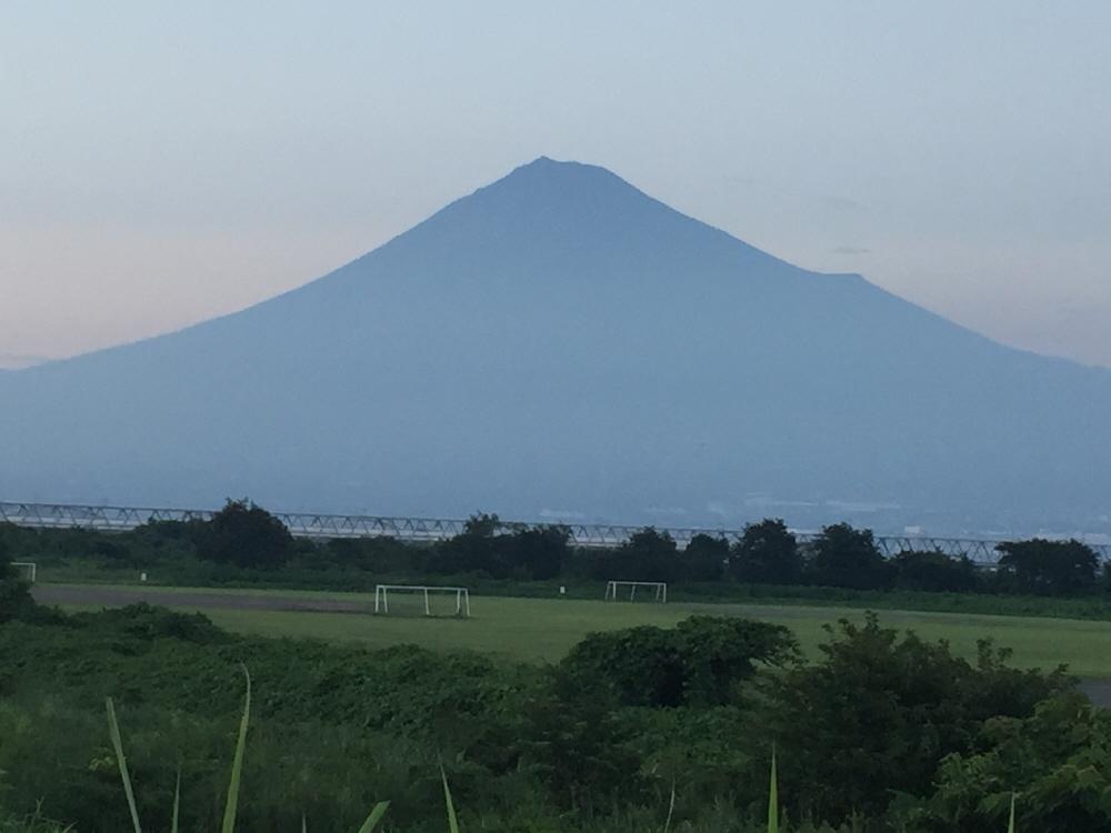 富士山夕暮れ