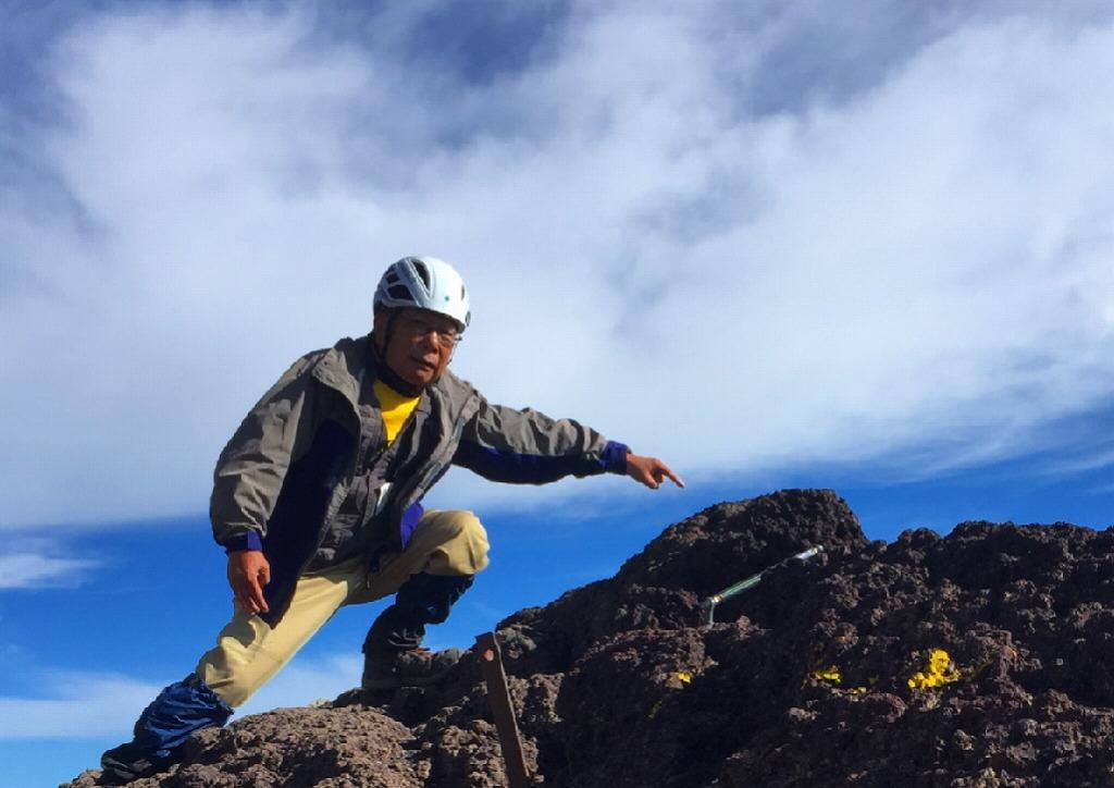 日本一高い岩