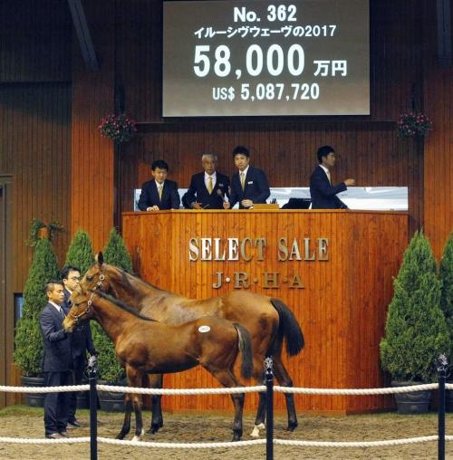 【競馬ネタ】近藤利一が落とした5億8000万の馬名を募集中