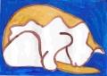 5熊谷守一の猫ニャーン (4)