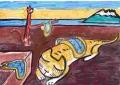 3サルバドール・ダリの作品「記憶の固執」