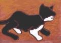 5熊谷守一 猫 (3)