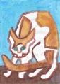 5熊谷守一猫ニャーン (1)