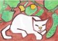 4熊谷守一 猫 (1)