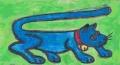5青猫しっぽの長い