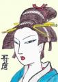 4日本髪こげ茶 (2)