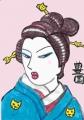 4日本髪こげ茶 (3)