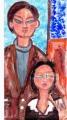 4ジャック・リブシッツ夫妻 モジリアニ (2)