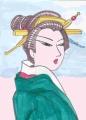 3浮世絵豊国江戸百人美女