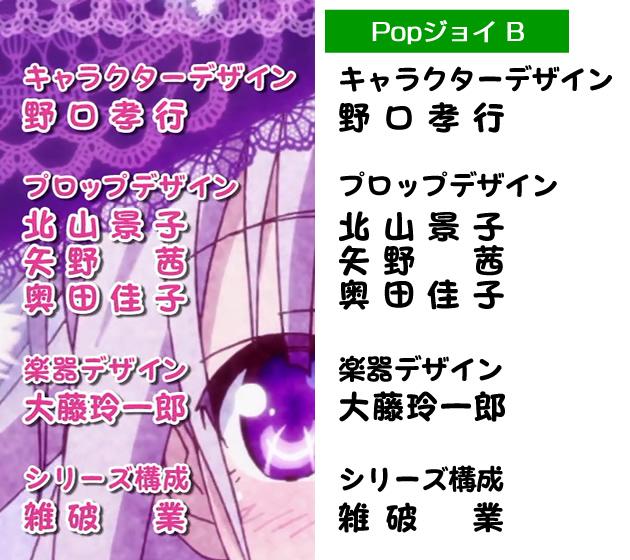【天使の3P!】オープニングの字幕フォント