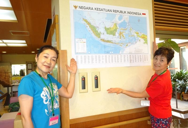 DSC09704シャロームインドネシア地図