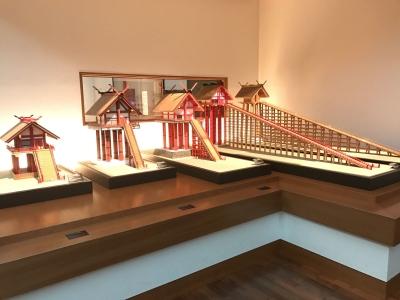 出雲大社本殿の復元模型