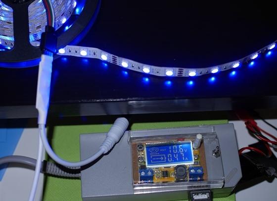 LEDテープRGB青