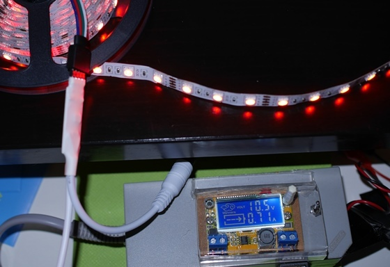 LEDテープRGB赤