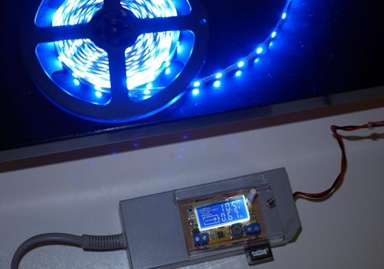 LEDテープ青