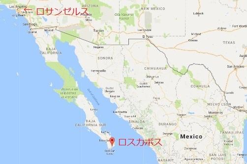 ロスカボス地図