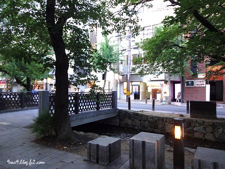 若い頃に住んでいた 京都木屋町