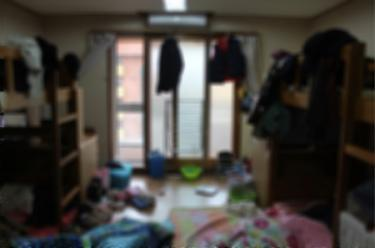 実際のところ・・こんな状態の中に入室することなんてよくあります。汗。