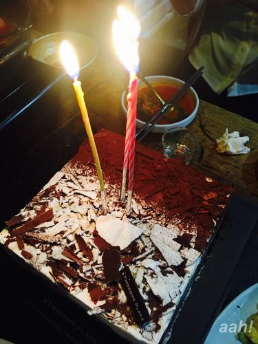 祭の中迎えた誕生日。