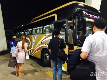 前々から乗ってみたかったバス。