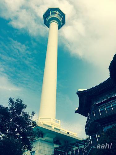 釜山タワーにやってきたものの・・