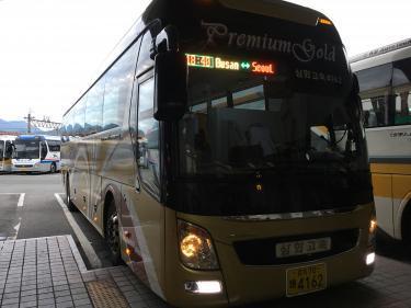 復路ももちろん、高速バスでソウルへ戻ります。