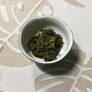 紫蘇の実の醤油漬け