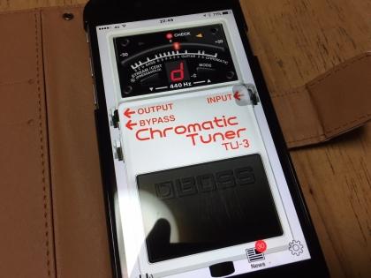 チューナーアプリ