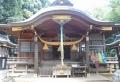 城山神社・拝殿