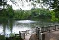 ひょうたん池の噴水