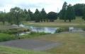 ひょうたん池全景