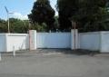 現存する外壁と官舎通用門