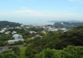 南西は小坪地区と江ノ島