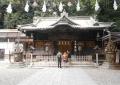 調神社・拝殿