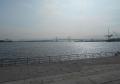 臨港パークから見るベイブリッジ