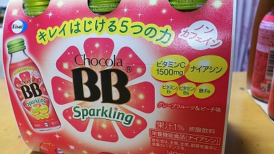 チョコラBB スパークリング