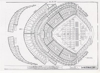 91年東京ドーム講演会場図