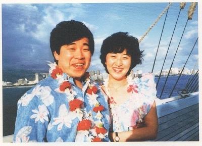 隆と恭子(「若き日の妻へ」より)