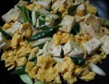豆腐炒め 調理④
