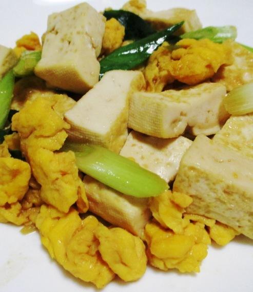 豆腐炒め B
