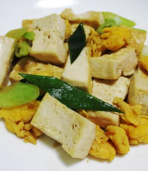 豆腐炒め 大