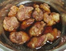 豚肉と玉ねぎの南蛮漬け 調理④