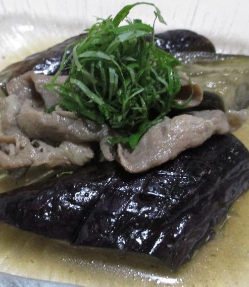 ナスと豚肉の黒糖煮 B