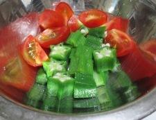 しそトマト 調理③